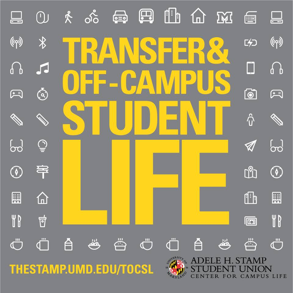 Transfers & off-campus student life logo